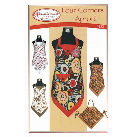 Four Corners Apron Pattern, Vanilla House