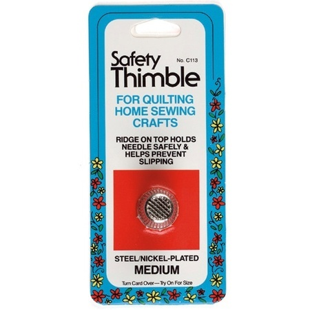 Thimble, Safety Thimble Medium #TH113