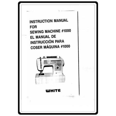 Instruction Manual, White W1000