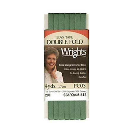 Bias Tape, Double Fold, Wrights #W201-