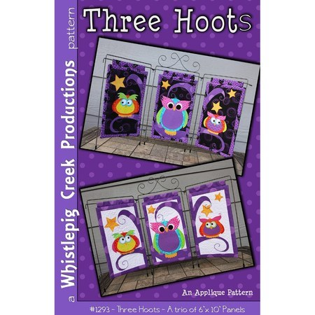 Three Hoots Pattern, Trio Owl Panels