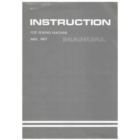 Instruction Manual, White 1407