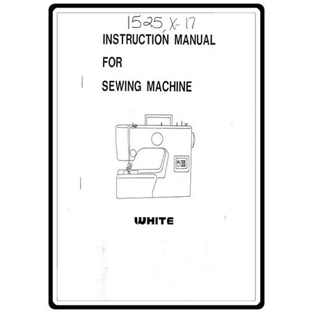 Instruction Manual, White X17