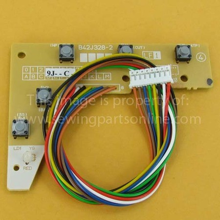 X Area Sensor PC Board, Babylock, Brother #XC8199051