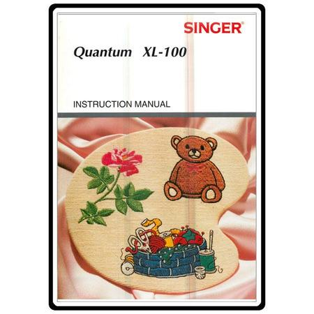 Instruction Manual, Singer XL100