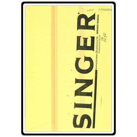 Service Manual, Singer XL50