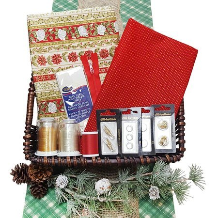 Sewing Goodies Mystery Box, Christmas Themed