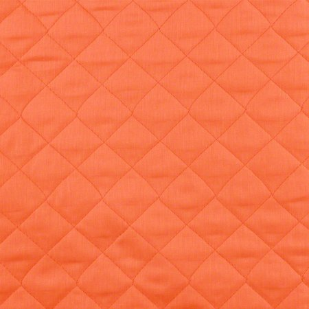 Reversible, Pre-Quilted Fabric, Orange