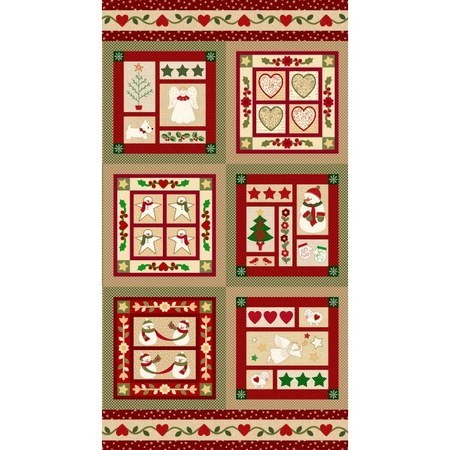 Marcus Fabrics, Wrapped in Joy Fabric Panel