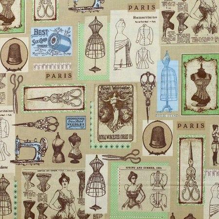 Robert Kaufman, Heirloom Diary, Sewing, Antique Fabric