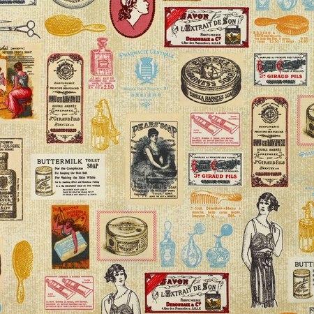 Robert Kaufman, Heirloom Diary, Beauty, Antique Fabric