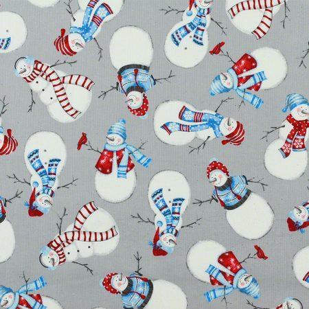 Marcus Fabrics, Let it Snow, Snowman Fabric