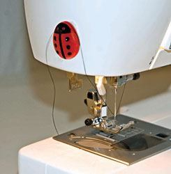 Thread Cutter, Lady Bug #ANLC