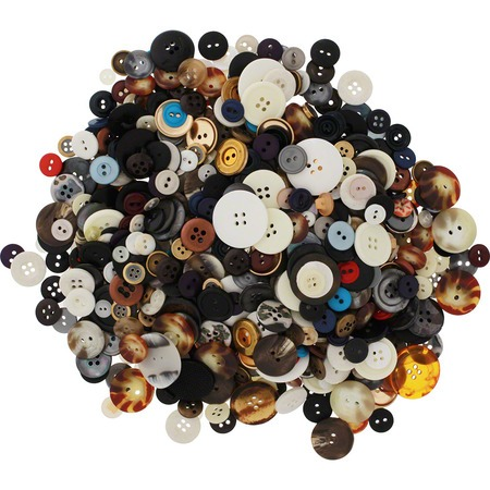 Assorted Buttons - 1lb