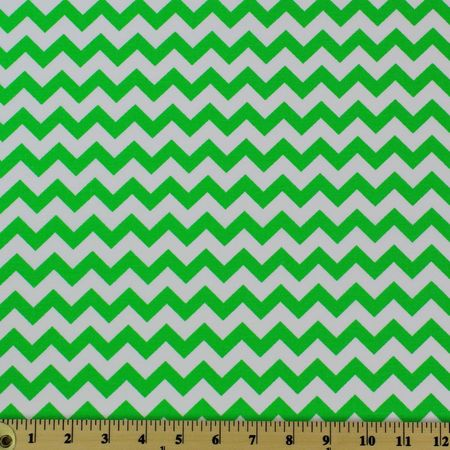 Chevron, Lime  Fabric