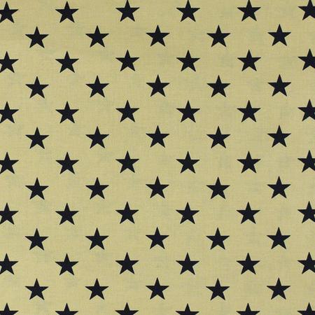 "108"" Quilt Backing, Large Antique Stars Fabric, Navy"