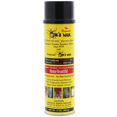 The Original Bee's Wax Polish 17oz