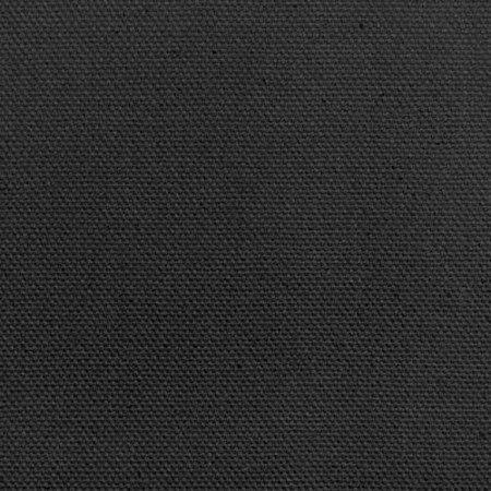 60in Black Cotton Duck Canvas Fabric James Thompson