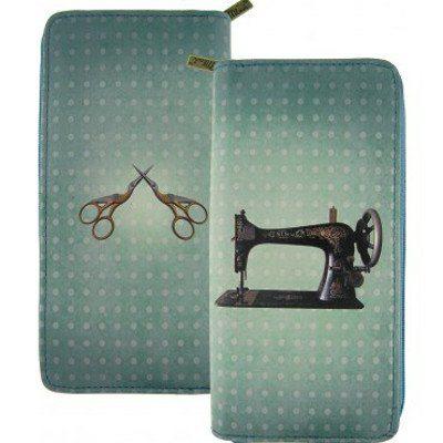 Sewing Machine / Scissor Wallet