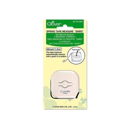 Shiro Spring Tape Measure, Clover #CL806