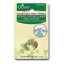 Adjustable Ring Thimble, Clover #CN-610