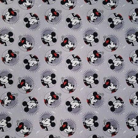 Disney, Smile Mickey Fabric, Mickey & Minnie Fashions