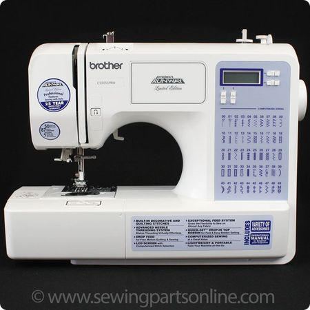 Brother CS-5055PRW Computerized Sewing Machine (50 Stitches)