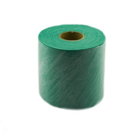 Starched Demo Cloth 4in x 25 yds, Green