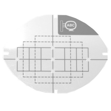 1 x 2.5 Small Grid Sheet, Babylock #EF77