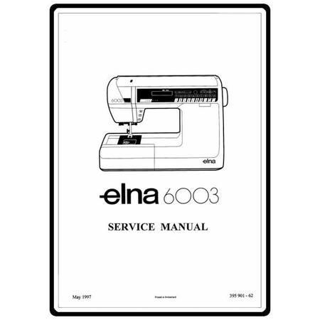 Service Manual, Elna 6003