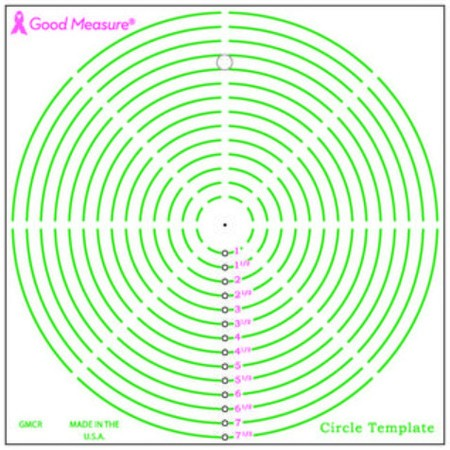 picture relating to Online Printable Ruler known as Positive Evaluate, Circle Template Ruler : Sewing Elements On-line
