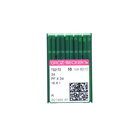 10pk 16x1 Needles, Groz-Beckert