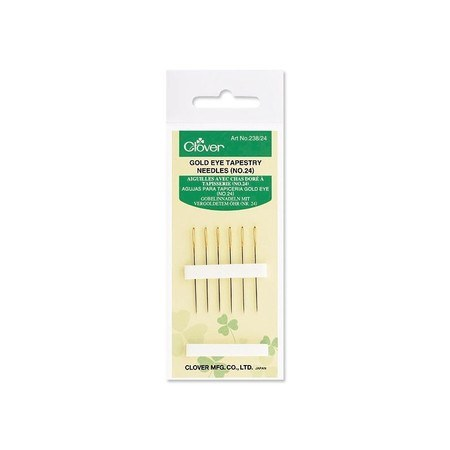 Gold Eye Tapestry Needles (No.24) (6pk)