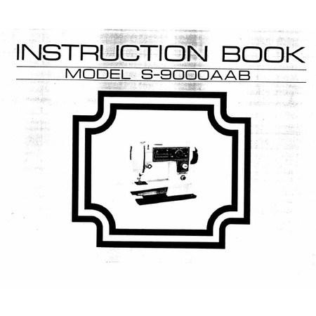 Instruction Manual, White S9000
