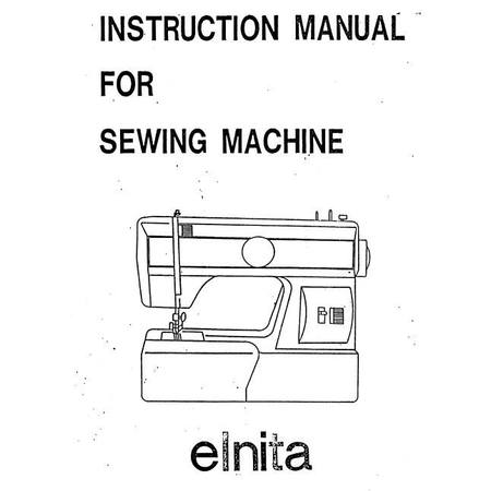 Instruction Manual, Elna 230