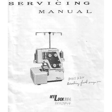 Service Manual, Janome 234