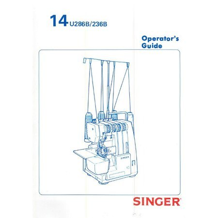 Instruction Manual, Singer 14U236B