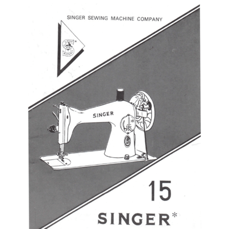Instruction Manual, Singer 15NL(N2)