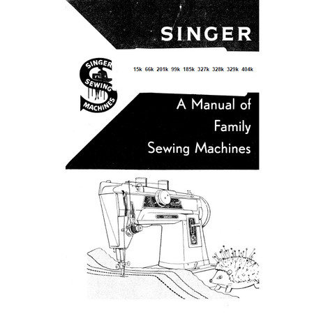 Instruction Manual, Singer 201K