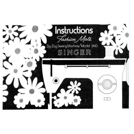 Instruction Manual Singer 40 Sewing Parts Online New Singer 360 Sewing Machine
