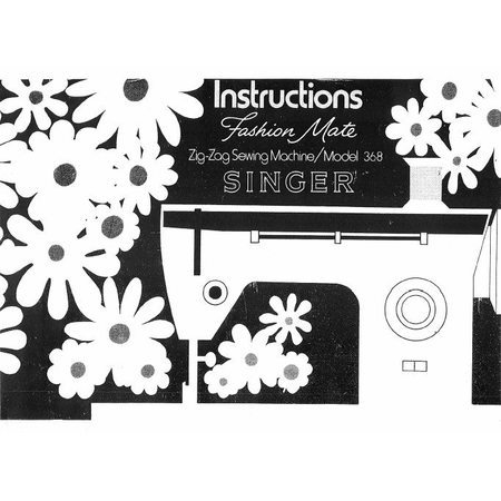 Instruction Manual, Singer 368