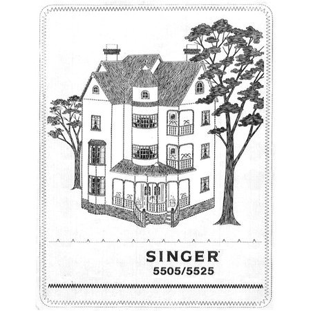 Instruction Manual, Singer 5525