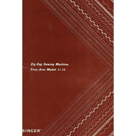Instruction Manual, Singer 6136