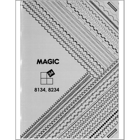 Instruction Manual, Singer 8234