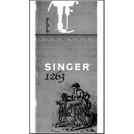 Instruction Manual, Singer 963