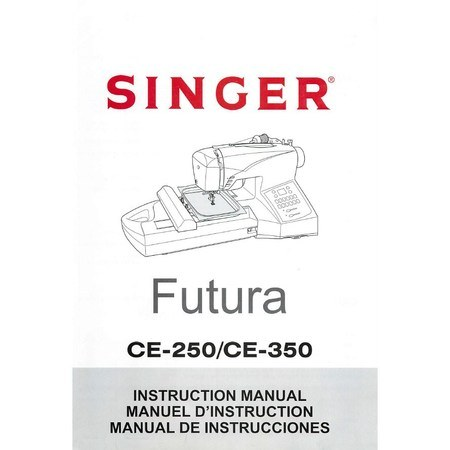 Instruction Manual, Singer CE350