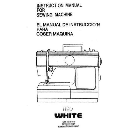 Instruction Manual, White 1126