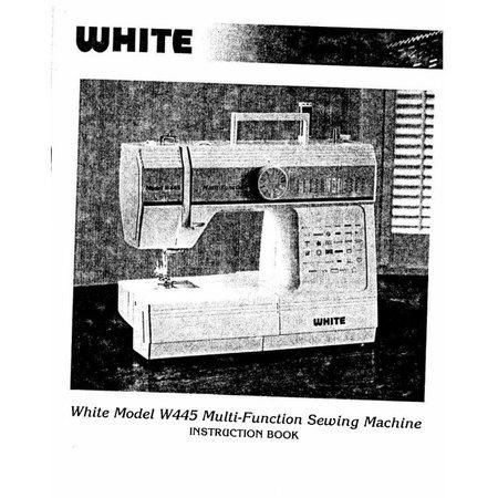 Instruction Manual, White 445
