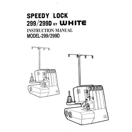 Instruction Manual, White SL299