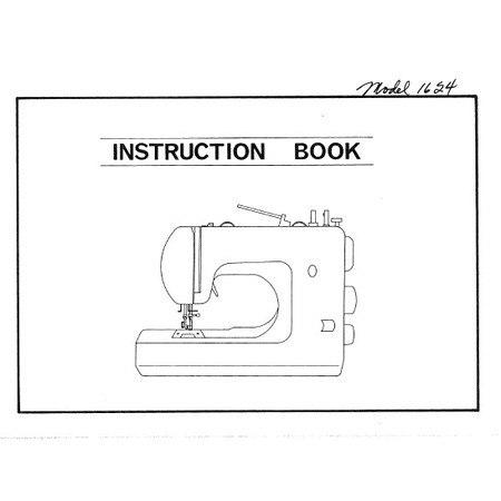 Instruction Manual, White 1624